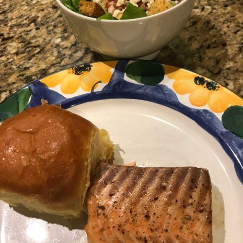 Soy-Maple Salmon
