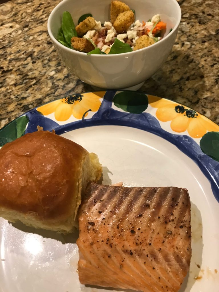 Soy-Maple Salmon