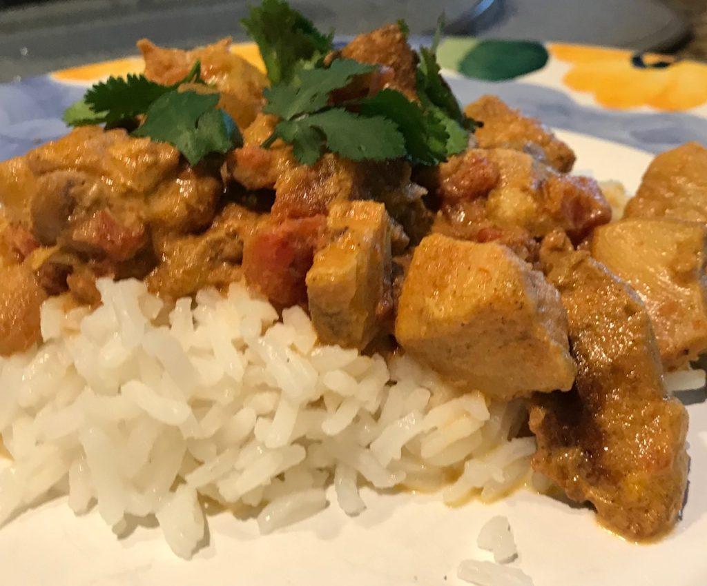Slow Cooker Chicken Tikki Masala