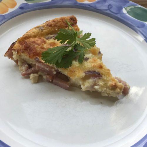Ham and Cheese Pie