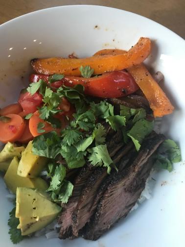 Chipotle Steak Rice Bowls